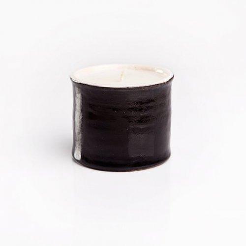 sojowa świeca ceramiczna black